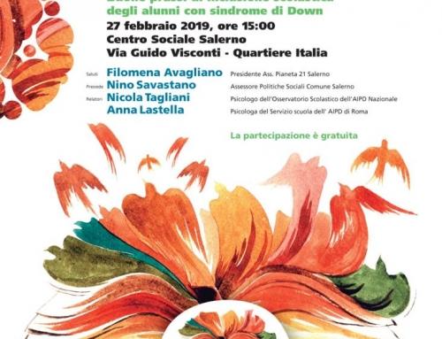 27 febbraio formazione per docenti a Salerno