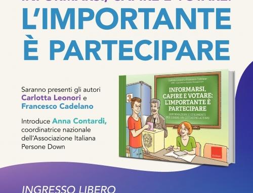 """Presentazione del libro """"Informarsi, capire e votare: l'importante è partecipare"""""""
