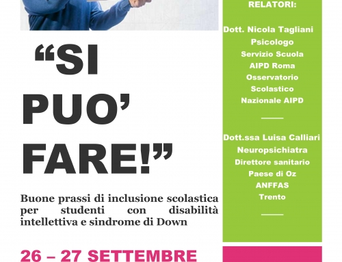 26 e 27 settembre formazione per docenti a Riva del Garda