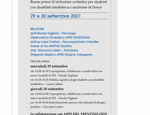 29 e 30 settembre formazione per docenti a Riva del Garda
