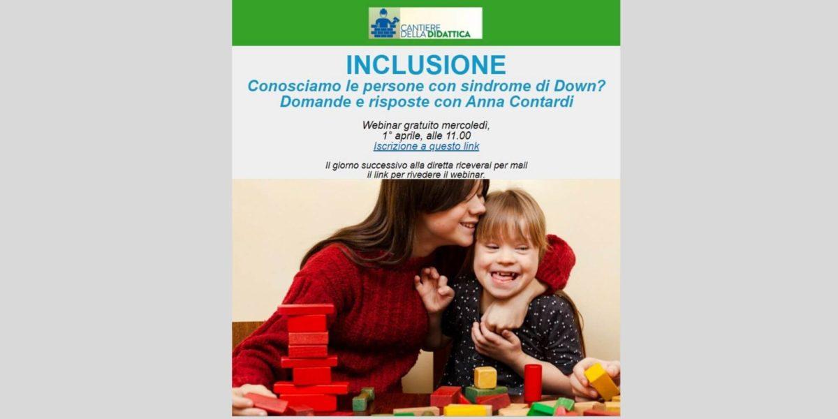 1 aprile: secondo webinar gratuito di TuttoScuola.com sulla sindrome di Down